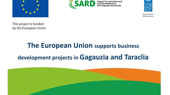 European Union offers more grants for business development in Gagauzia and Taraclia