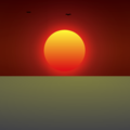CSS Sunrise Animation