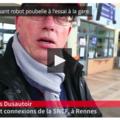 SNCF. Un robot pour inciter à la propreté - Brest - LeTelegramme.fr