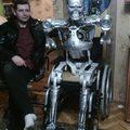 Fan du film Terminator il construit son T-800 ! | Planète Robots