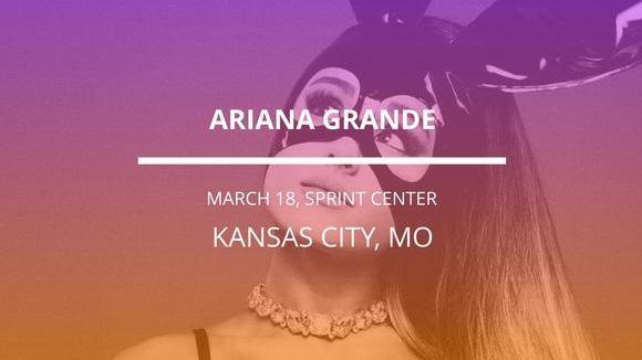 Ariana Grande in Kansas City