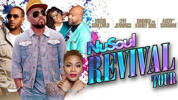 2017: Nu Soul Revival Tour: The Midland Theatre Kansas City, MO.