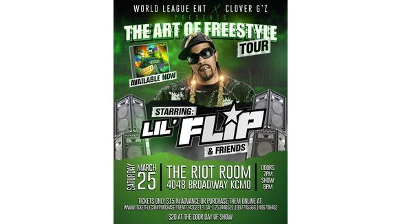 Lil' Flip LIVE in KC at The Riot Room
