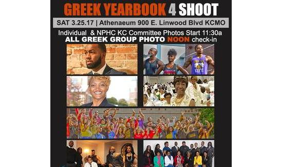 Black Greek Yearbook Photoshoot