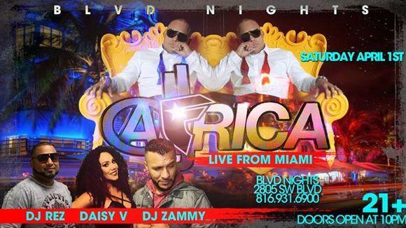 DJ Africa @ BLVD Nights