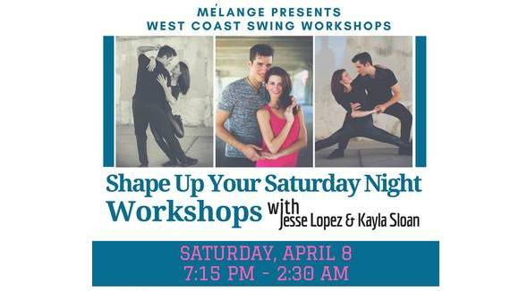 West Coast Swing Workshops & Dance Party