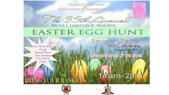 Kappa Alpha Psi Easter Egg Hunt