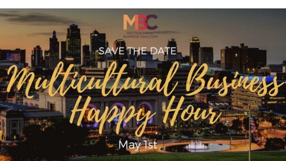 Multicultural Business Happy Hour