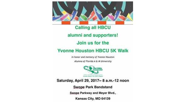 Yvonne Houston HBCU 5K Walk