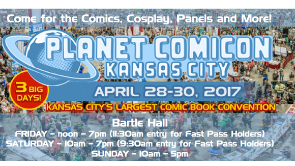 Planet Comicon KC