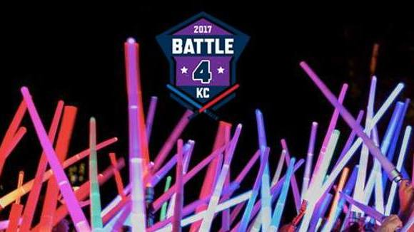 Largest Lightsaber Battle World Record Attempt