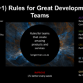 10(+1) Rules for great development teams