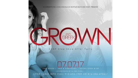 Grown & Greek Step Show After Party