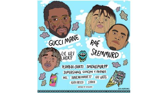 Flyover KC with Gucci Mane, Rae Sremmurd, Lil Uzi Vert, & Playboi Carti