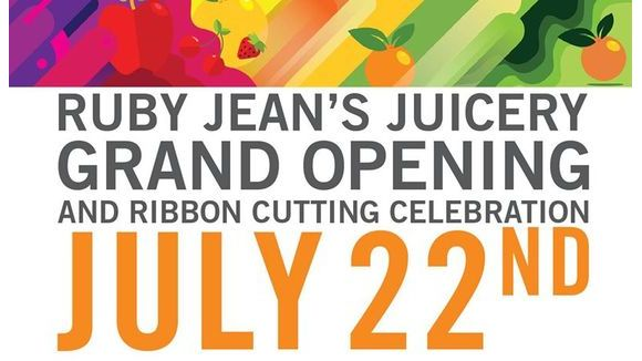 Ruby Jean's Juicery Grand Opening & Ribbon Cutting Celebration