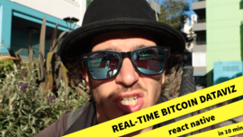 Build a Real-Time Visualization App of Bitcoin Transactions