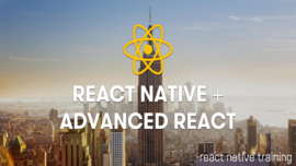 React Native Fundamentals, August 21-22, New York City, NYC | React Native Training