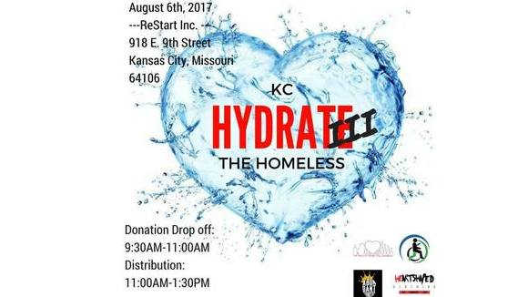 Hydrate the Homeless KC #3