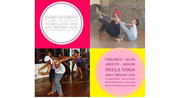 West African and Afro-Caribbean Dance for Kids & Adults