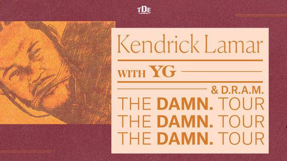 Kendrick Lamar w/ Dram & YG - DAMN Tour