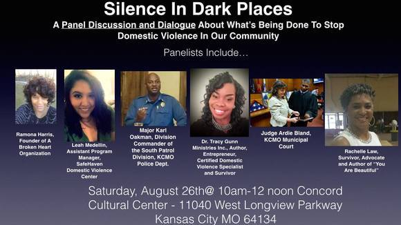 Silence In Dark Places, A Panel Disussion on Domestic Violence