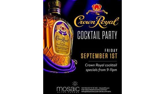 Crown Royal Cocktail Party