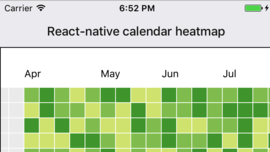 react-native-calendar-heatmap