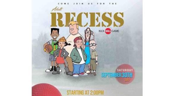 Adult Recess (Kickball Game)