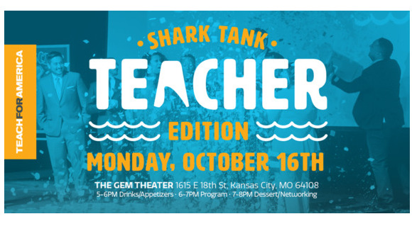 TFA KC Shark Tank: Teacher Edition