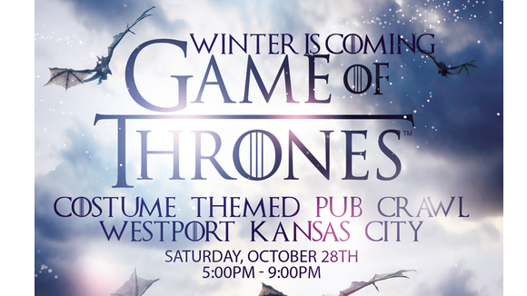 Winter Is Coming: Game of Thrones Halloween Costume Themed Pub Crawl