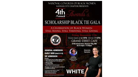 4th Annual Awards & Scholarship Black Tie Gala