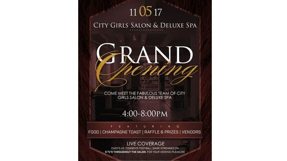 City Girls Salon & Spa Parties Grand Opening