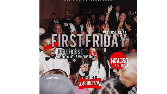 #KcFirstFriday @ The Juke House