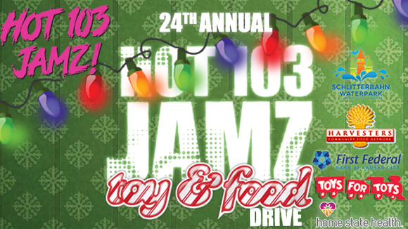 Hot 103 Jamz 24th Annual Toy and Food Drive