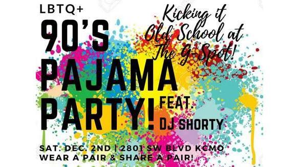 90's Pajama Party