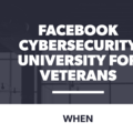 Course: Facebook Cybersecurity University For Veterans