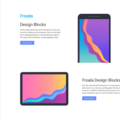 Froala Design Block Sketch Template
