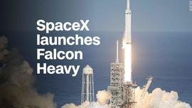 Watch the launch of SpaceX's Falcon Heavy - Video - Technology