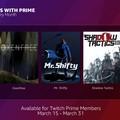 升級會員福利,Twitch Prime 成員未來每月都能獲得數款免費 PC 遊戲