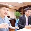 尊重多元性別。教育部長與 YouTuber 鍾明軒對談性別霸凌議題
