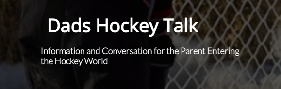 Logo for Dads Hockey Talk