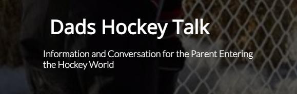 Logo for Dads Hockey Talk