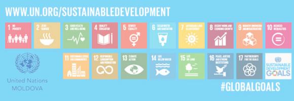 Logo for UN Moldova's Newsletter