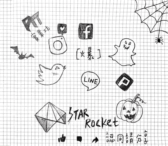 Logo for Star Rocket 創業週報